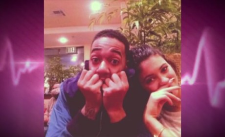 Kylie Jenner and Lil Za: Hanging at Justin Bieber's House!