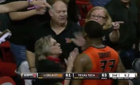 Marcus Smart Shoves Fan, Gets Tossed from Oklahoma State Loss