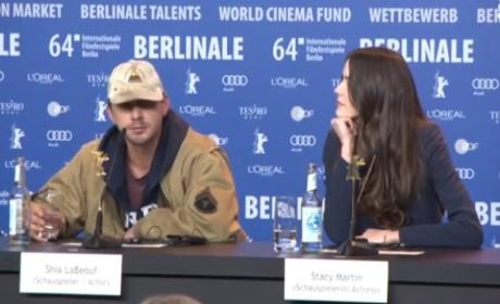 Shia LaBeouf Exits Berlin Film Festival Press Conference