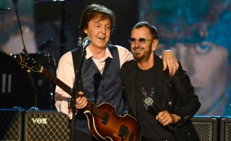Paul McCartney and Ringo Starr Reunite for A Salute to The Beatles