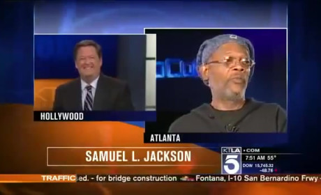 Samuel L. Jackson BLASTS News Anchor: I'm Not Laurence Fishburne!