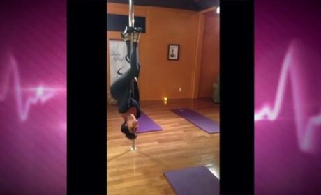 Pole Dancing Kris Jenner
