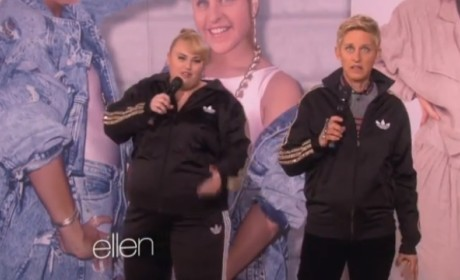 "Ellen DeGeneres and Rebel Wilson Form Rebellen, Rap ""Watching Cats on the Internet"""