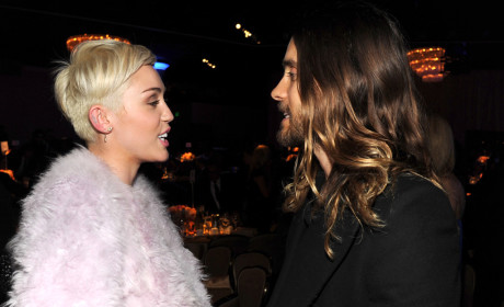 Jared Leto and Miley Cyrus?