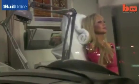 "Blondie Bennett, ""Real Life Barbie,"" Hopes Hypnotherapy Will Make Her as Stupid"