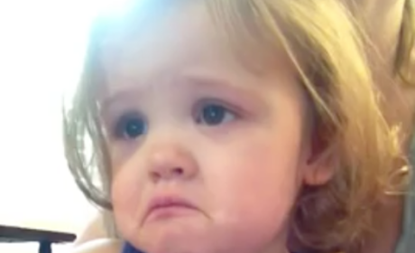 Little Girl Hears Parents' Wedding Song, Cries Tears of Joy and Emotion