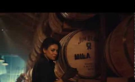 Mila Kunis for Jim Beam