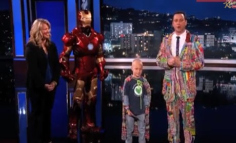 Jimmy Kimmel Honors Young Cancer Patient, Gets Choked Up