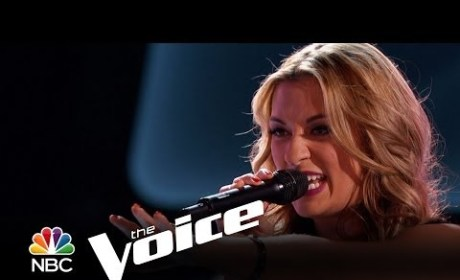 Clarissa Serna - Zombie (The Voice Audition)