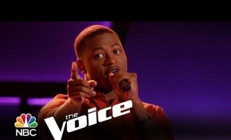 DeShawn Washington - Twistin' the Night Away (The Voice Audition)