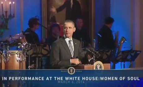 President Obama Does Not R-S-P-E-C-T Aretha Franklin, Misspells Song Name