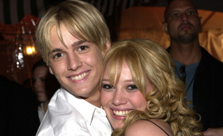 Aaron Carter Openly Pines for Hilary Duff, Laments Loss of His Life