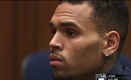 Chris Brown Arrested in Rehab