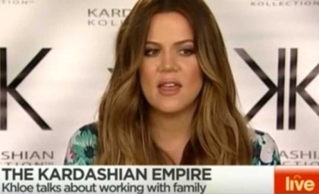 Khloe Kardashian Interview: Cut Short!