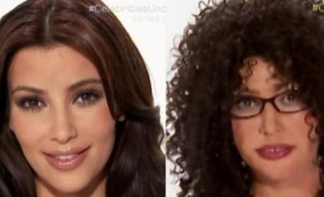 Kim Kardashian Stars on Celebrities Undercover