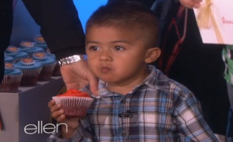 Adorable Cupcake Kid Appears on Ellen, Gets Some Cupcakes