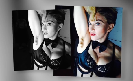 Madonna with Armpit Hair
