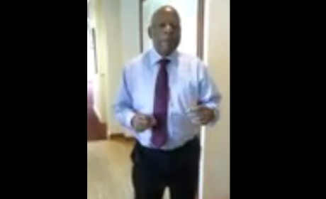 Congressman John Lewis Dancing to 'Happy'