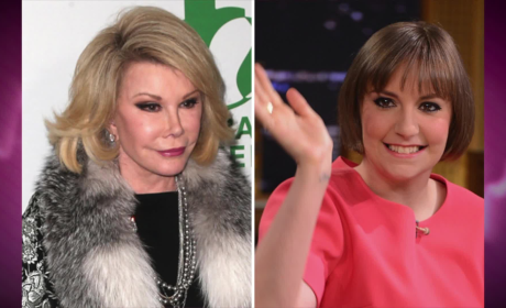 Joan Rivers to Lena Dunham: Being Fat is NOT COOL!