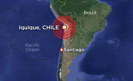 Chile Earthquake Measures 8.2; Celebrities Tweet Prayers