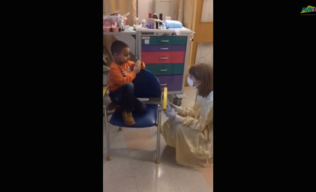 Taylor Swift Spends Time with Cancer Patients