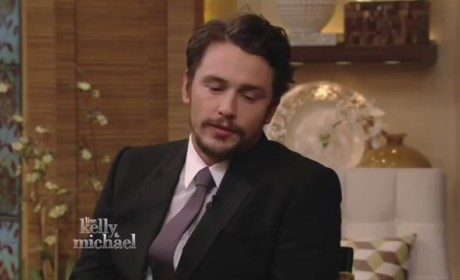 James Franco on Live with Kelly and Michael