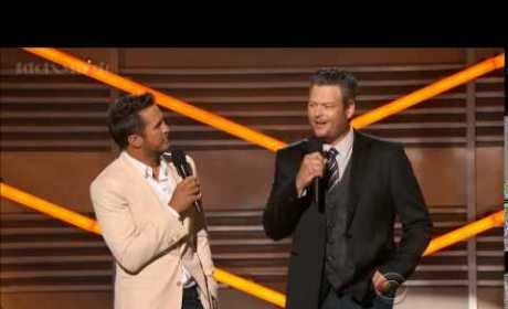 Britney Spears' Lip-Syncing Slammed By Blake Shelton at ACM Awards