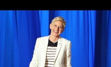 Ellen DeGeneres Tries Late Night Monologue
