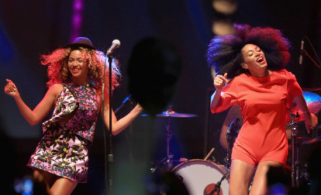Coachella Surprise: Beyonce Dances on Stage with Solange!