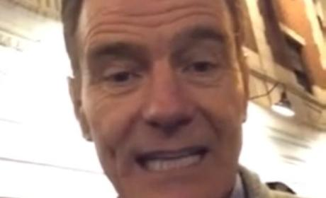 Bryan Cranston Helps Teen Ask Girl to Prom: 'Say Yes or Tread Lightly!'