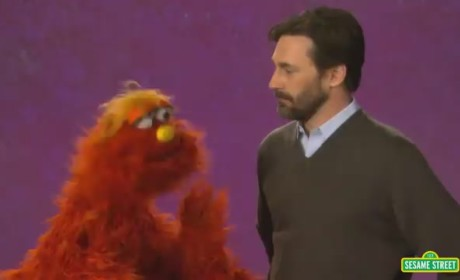 Jon Hamm Goes Through Emotional Ringer on Sesame Street