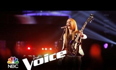 Bria Kelly - Wild Horses (The Voice)