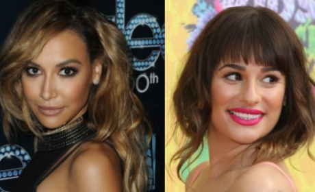Naya Rivera and Lea Michele Feud: Who Stormed Off Glee Set?