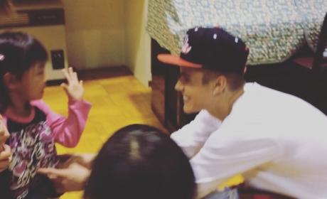 Justin Bieber Orphanage Visit