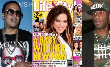 Lamar Odom: Devastated By Khloe Kardashian-French Montana Baby Plans!