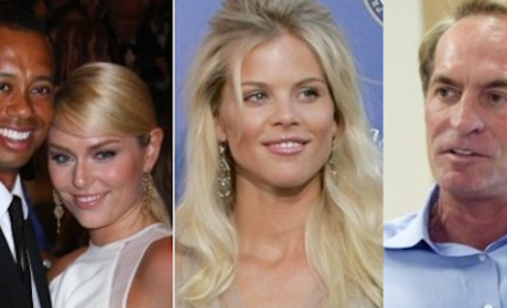 Tiger Woods, Lindsey Vonn Double Date with Elin Nordegren, Chris Cline!