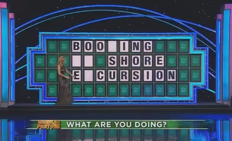 Wheel of Fortune Contestant Blows Nearly-Solved Puzzle, Apparently Loves to Drink