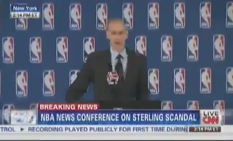 Adam Silver Bans Donald Sterling For Life