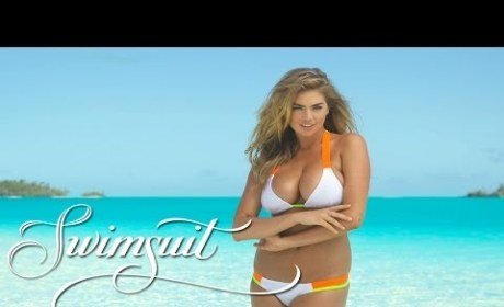 "Kate Upton: ""Behind"" the Scenes Video"