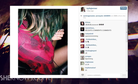 Kylie Jenner Wears Fishnet Stockings as Pants, Further Cements Jailbait Reputation