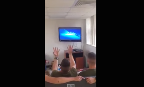 "Marines Sing ""Let It Go"""