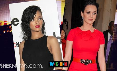 Katy Perry, Rihanna Feuding Over John Mayer?