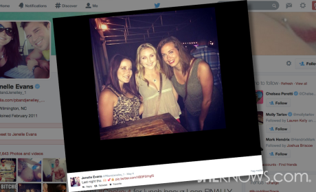 Jenelle Evans: Partying While Eight Months Pregnant?!