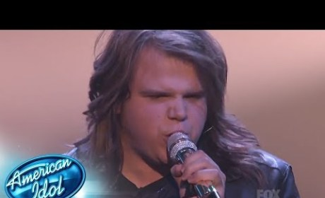 "Caleb Johnson - ""Travelin' Band"""