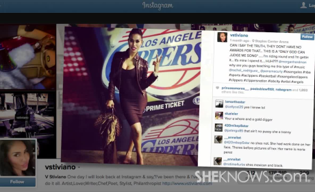 V. Stiviano Under Investigation
