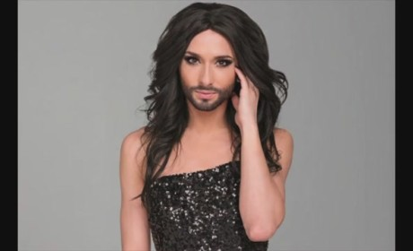 "Conchita Wurst: ""Bearded Lady"" Booed on Stage, Still Wins Singing Competition"