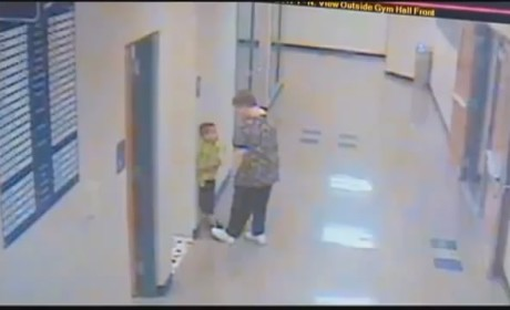 Teacher Slams Student Against Wall