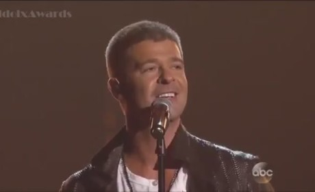 Robin Thicke Billboard Music Awards Performance 2014