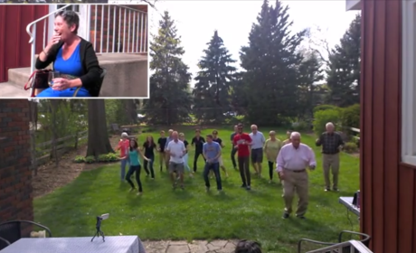 Loved Ones Surprise Terminally Ill Woman with Flash Mob: Watch, Smile Now!