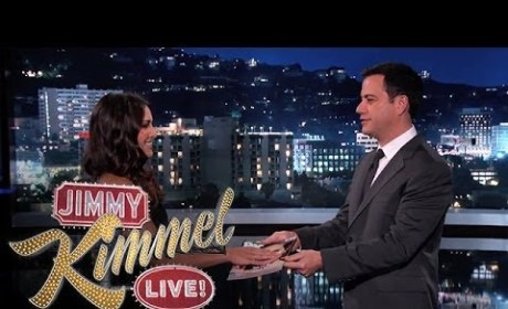 Andi Dorfman on Jimmy Kimmel Live